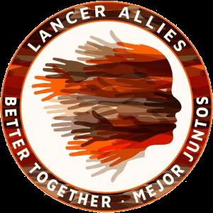 Lancer Allies Better Together Mejor Juntos Circular logo
