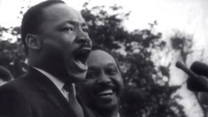 Dr. Martin Luther King Jr   Our God is Marching On