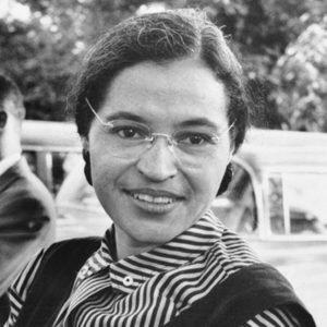 Rosa Parks closeup