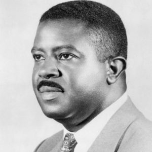 Ralph D Abernathy black and white headshot