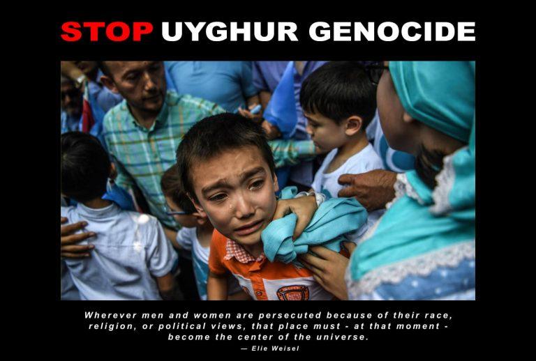 Stop Uyghur Genocide