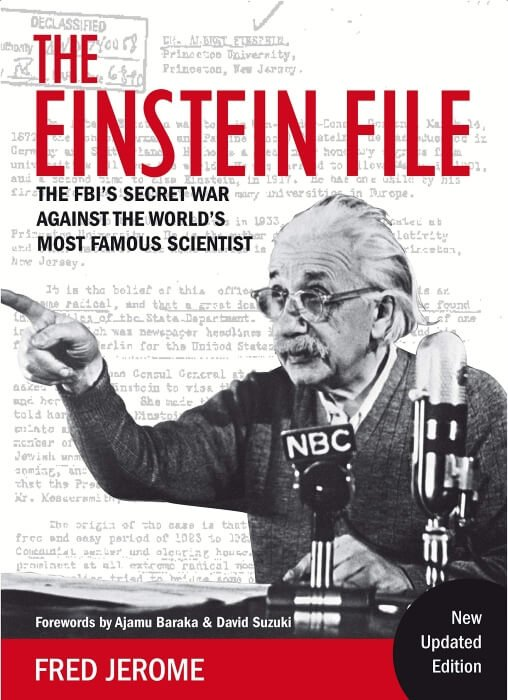 THE EINSTEIN FILE - J. Edgar Hoover's Secret War Against the World's Most Famous Scientist book cover