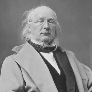 Horace Greeley restored portrait