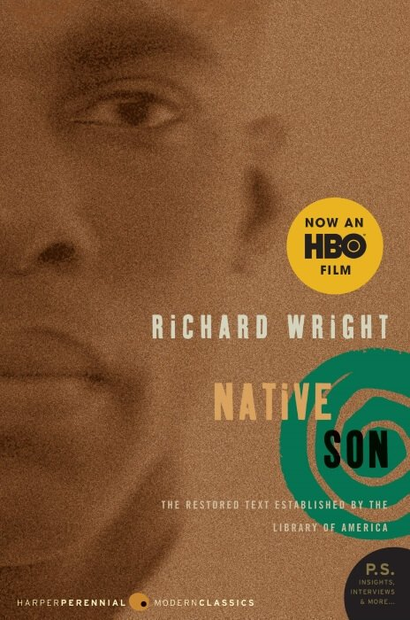 Native Son by Richard Wright paperback book cover